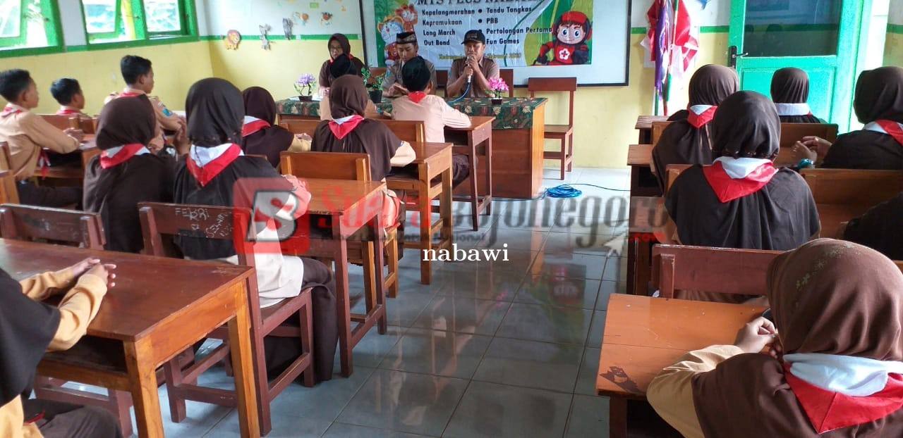 Pembukaan Diklat Gabungan PMR dan Pramuka Mts Plus Nabawi